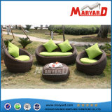 Outdoor 4PCS Garden Rattan Sofa