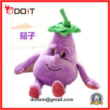 Cartoon Plush Eggplant Pet Toys with Good Price