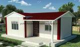 Light Steel Green Prefabricated House