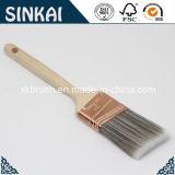 Long Wooden Handle Angular Sash Brushes