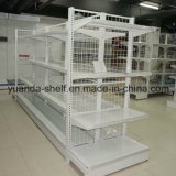 Supermarket Drug Store Wire Mesh Steel Display Shelf