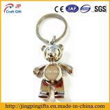 Hot Sale The Little Bear Shape Metal Key Ring
