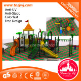 Large Anti-Static Outdoor Plastic Kids Slide Playground