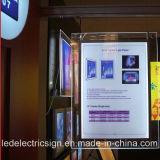 Magic Mirror Crystal LED Light Box Sign