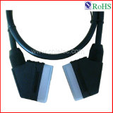 Scart Plug to Scart Plug Cable (SY027)