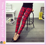 2016 New Design High Quality Large Size Women Printed Leggings