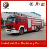 10000L Water/2000L Foam Tank Fire Fighting Truck