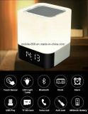 4 in 1 LED Light Wireless Bluetooth Speaker with Touch Sensor Alarm Clock TF Card Music Loudspeaker