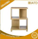 Pop up Supermarket MDF Storage Display Melamine Wood Book Shelf