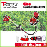 2-Stroke 42.7cc Petrol Backpack Grass Trimmers