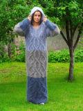 Custom OEM Hand Knit Sweater Cardigan Dress Pullover