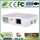 Made in China 3000 Lumens Digital 3LED 3 LCD Home Cinema LED Projector
