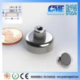 Strong N40 D19.05xh13mm High Quality NdFeB Potn08 Magnet