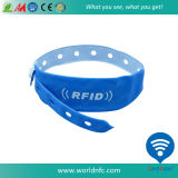 Logo Customize One Time Use Disposable Paper Soft PVC 13.56MHz Ntag213 RFID Nfc Wristband