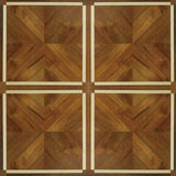 Oak and Maple, Aacia Wire Brush Mosaic Parquet Flooring