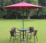 Wholesale Durable Sun Protection Fashion Design Umbrella for Hotel Resort Deluxe Outdoor Parasol