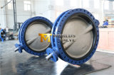Double Flanged U Section Butterfly Valve with Ce ISO Wras Approved (CBF01-TU01)