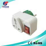 AC DC Power Plug Adaptor Electrical Plug with Switch (pH3-1382)