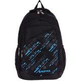 Stylish Black Nylon Leisure Laptop Travel Backpacks for Men