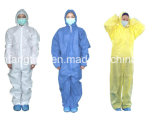 Non Woven Disposable Coverall with CE Anti Virus Type 3/4/5/6