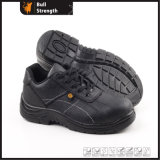 Industry Leather Safety Shoes with Steel Toe Cap (SN5113)