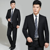High Quality 100% Wool Men's Formal Coat Pant Suit (MTM140028)