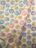 100%Cotton Flannel Printed Recative Printing Garment