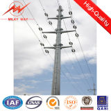 16m High Voltage Hot DIP Galvanized Steel Pole in China