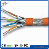 S/FTP Shielded Cat 7A Twisted Pair Installation Cable, Cat7a S/FTP Data /LAN Cable