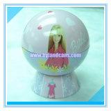Ball Shaped Metal Tin Gift Box