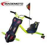 120W 12V Kids 3 Wheel Electric Drift Trike Sliding Tricycle