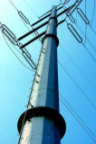 Hot DIP Galvanized Electric Steel Pole for Power Transmission Line