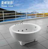 Freestanding Round Couple Family SPA Bathtub (M-2030)