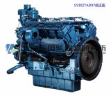 12 Cylinders Engine, Shanghai Dongfeng Engine for Generator Set, Sdec Engine, 1200kVA