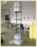 Exhibition Display Rack with 6-Layer Showcases