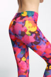 Sublimation Custom Gym Yoga 3/4 Leggings
