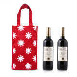 Two Bottle Wine Gift Cotton Fabric Bags Wholesale (CWB-2028)
