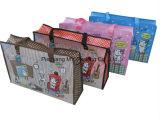 OPP Lamination Non Woven Promotion Zipper Tote Bag for Shopping