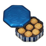 Cookie Tin Box Biscuit Tin Cans OEM Factory