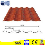 Red/Green/Grey Africa Type Corrugated Steel Glazed Roofing Tile Price