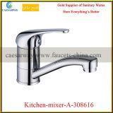 Single Handle Brass Deck Mounted Sink Water Tap