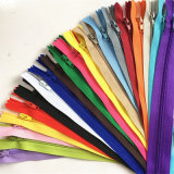 All Size Nylon O/E/a/L Teeth Polyester Zipper for Clothing Garments Pants