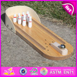 2015 Hot Sale Wooden Bowling Toy, Bowling Toy for Children, Kids′ Wood Bowling, Pretend Play Wood Bowling Toy W01A141