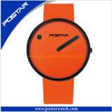 Fashion Quartz Watch with Genuine Leather Strap
