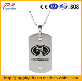Custom Made Cheap Metal Name Dog Tag Necklace