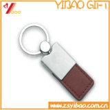 Promotional Gift Genuine Leather Car Keychain (YB-LK-02)
