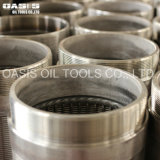 Oasis 0.75 mm Slot Deep Well Water Well Screen Drilling Pipe Tube