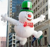 Giant Flying Snowman, Snowman Parade Helium Balloon K7146