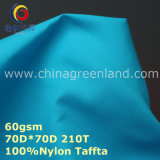 Nylon Taffeta Tear Resistance Fabric for Lining Textile Clothes (GLLML265)