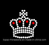 Wholesale Crown Iron on Clothes Hot Fix Rhinestone Motif (TM500-Crown)